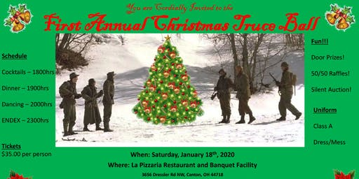 WW2 Reenactors - First Annual Christmas Truce Ball