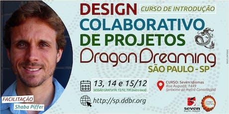 DESIGN COLABORATIVO DE PROJETOS DRAGON DREAMING, São Paulo - SP ingressos