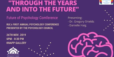 The Future of Psychology Conference tickets
