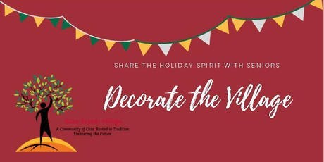 Join Us for An Evening of Holiday Decorating at Eliza Bryant Village tickets