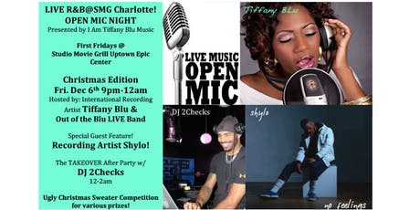 LIVE R&B@SMG Charlotte/OPEN MIC NIGHT tickets