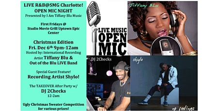LIVE R&B@SMG Charlotte/OPEN MIC NIGHT tickets