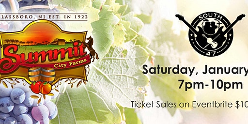 Wine and Country Music with South 47 at Summit City Winery