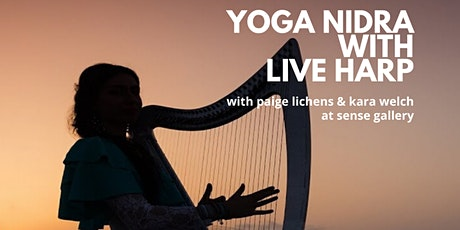 Yoga Nidra with Live Harp tickets