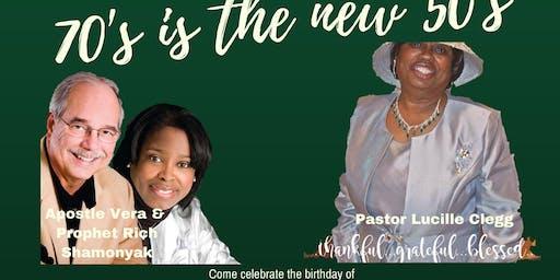 Birthday Celebraion Pastor Lucille Clegg