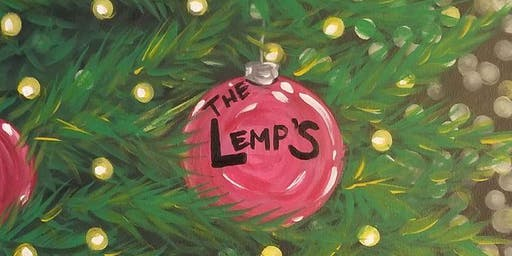 Christmas Paint and Sip at Lemp Mansion