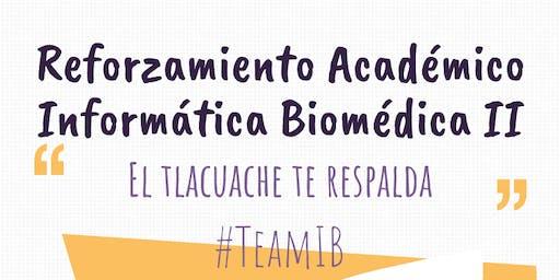Reforzamiento Académico Informática Biomédica Bloque 2