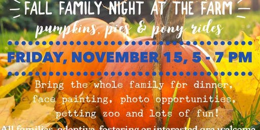 Fall Family Night at FRM