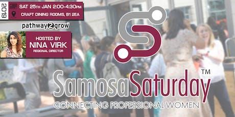 Birmingham Samosa Saturday - Connecting Professional Women 25th Jan 2020 tickets