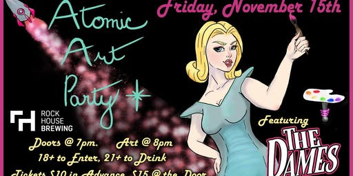 November Atomic Art Party