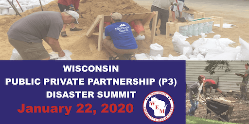 WI Public-Private Partnership (P3) Disaster Summit