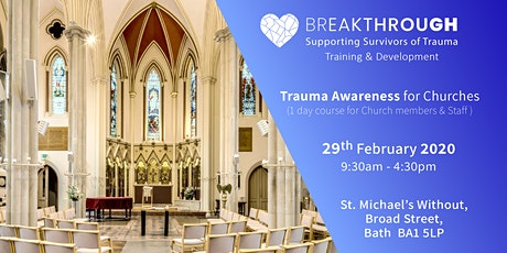 Breakthrough Training -- Trauma Awareness for Churches tickets