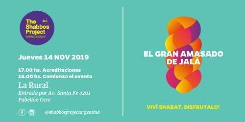 Shabbos Project BA - El GRAN AMASADO DE JALÁ
