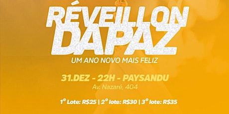 Reveillon da Paz 2019 ingressos