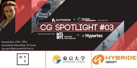 CG Spotlight #03 tickets