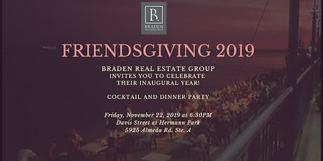 Braden Real Estate Group Friendsgiving tickets