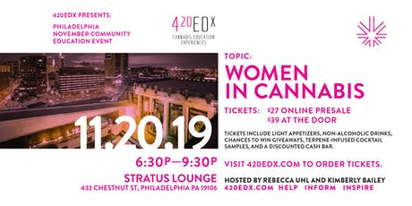 420EDx November Community Education Event: Philly tickets