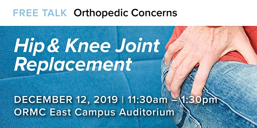 Hip & Knee Joint Replacement