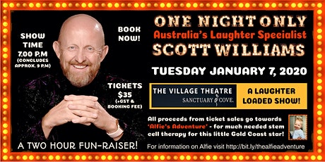 Comedian Scott Williams For One Night Only tickets