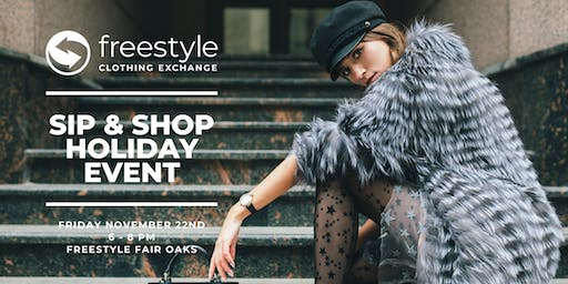 Sip & Shop Holiday Shopping Event