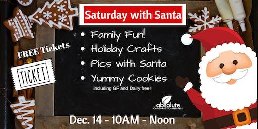 Saturday with Santa