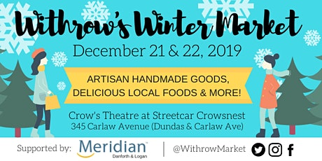 Withrow's Winter Market tickets