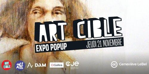 Expo Popup Art Cible : Novembre