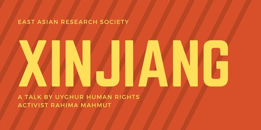 TALK: Xinjiang - a personal reflection by Rahima Mahmut