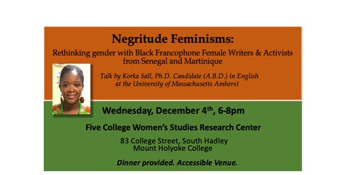 Negritude Feminisms: Rethinking gender with Black Francophone Women Write