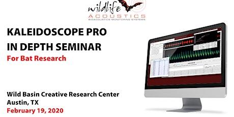 Kaleidoscope Pro for Bat Research, Austin: Feb 19 tickets