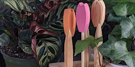 Valentine's Day Tulips - Kids Wood Craft Workshop tickets