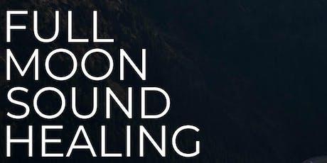 Full Moon Sound Healing tickets