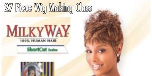 Stuart, Fl| 27 Piece Wig Making Class