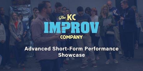 The KC Improv Co. Training Center Advanced Short Form Performance Showcase tickets