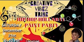 Hip Hop Holladay Paint Party
