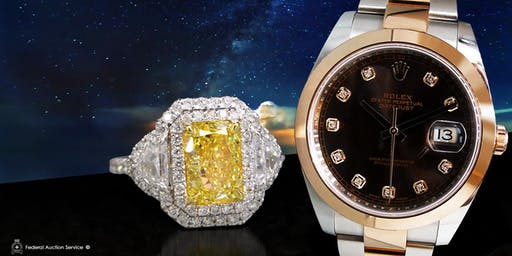 Calgary 11.17.2019 at 1pm – Fine Jewellery & Swiss Watch Live Auction