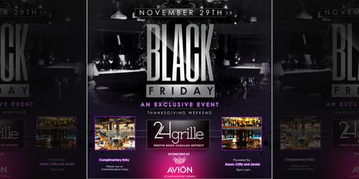Black Friday @24grille