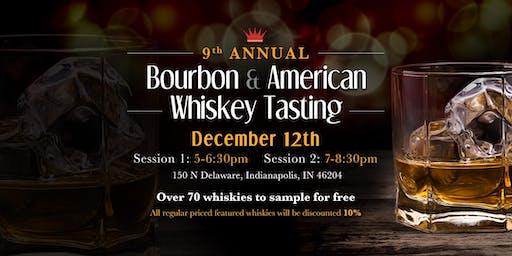 9th Annual Bourbon & American Whiskey Tasting