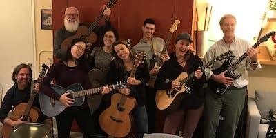 Guitar for Lifers! (Upper Level Class) Winter 2020: An 8 Week Guitar Workshop!