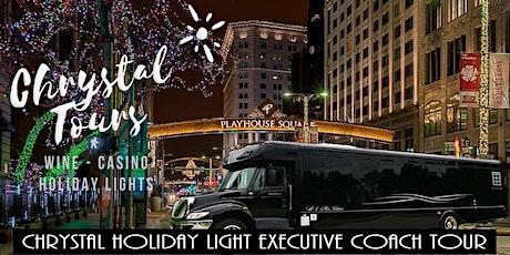 Chrystal Holiday Lights (BYOB) Executive Coach Tour - Westside tickets