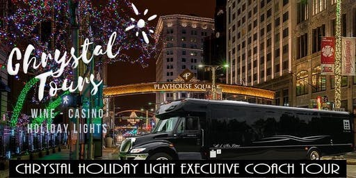 Chrystal Holiday Lights (BYOB) Executive Coach Tour - Westside