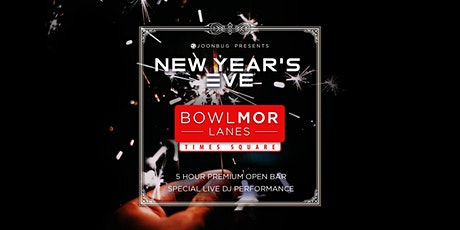 Bowlmor Times Square New Years Eve 2020 Party tickets