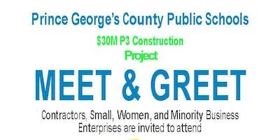 PGCPS P3 Design, Construction, & Maintenance Matchmaking Event