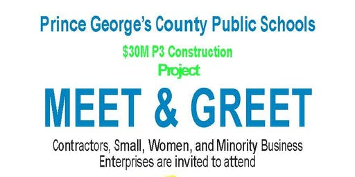 PGCPS P3 Design, Construction, & Maintenance Matchmaking Event