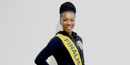 Voter nr° 10 finaliste Evelina Tchimanga - Miss Angola Belux 2019