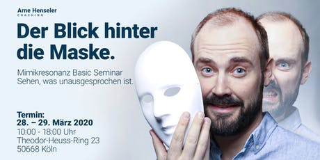 Der Blick hinter die Maske - Mimikresonanz Basic Training Tickets