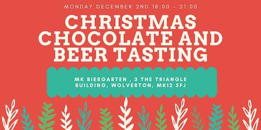 Christmas Chocolate and Beer Tasting