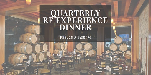 Quarterly R+F Experience Consultant Only Dinner