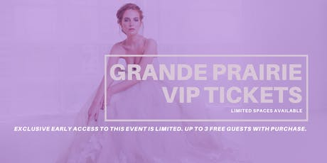 Opportunity Bridal VIP Early Access Grande Prairie Pop Up Wedding Dress Sale tickets