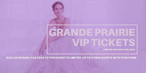 Opportunity Bridal VIP Early Access Grande Prairie Pop Up Wedding Dress Sale